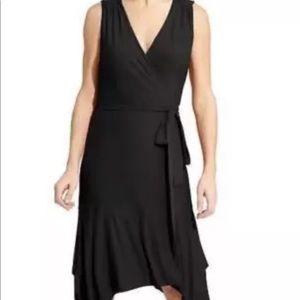 Athleta Windward Wrap Dress